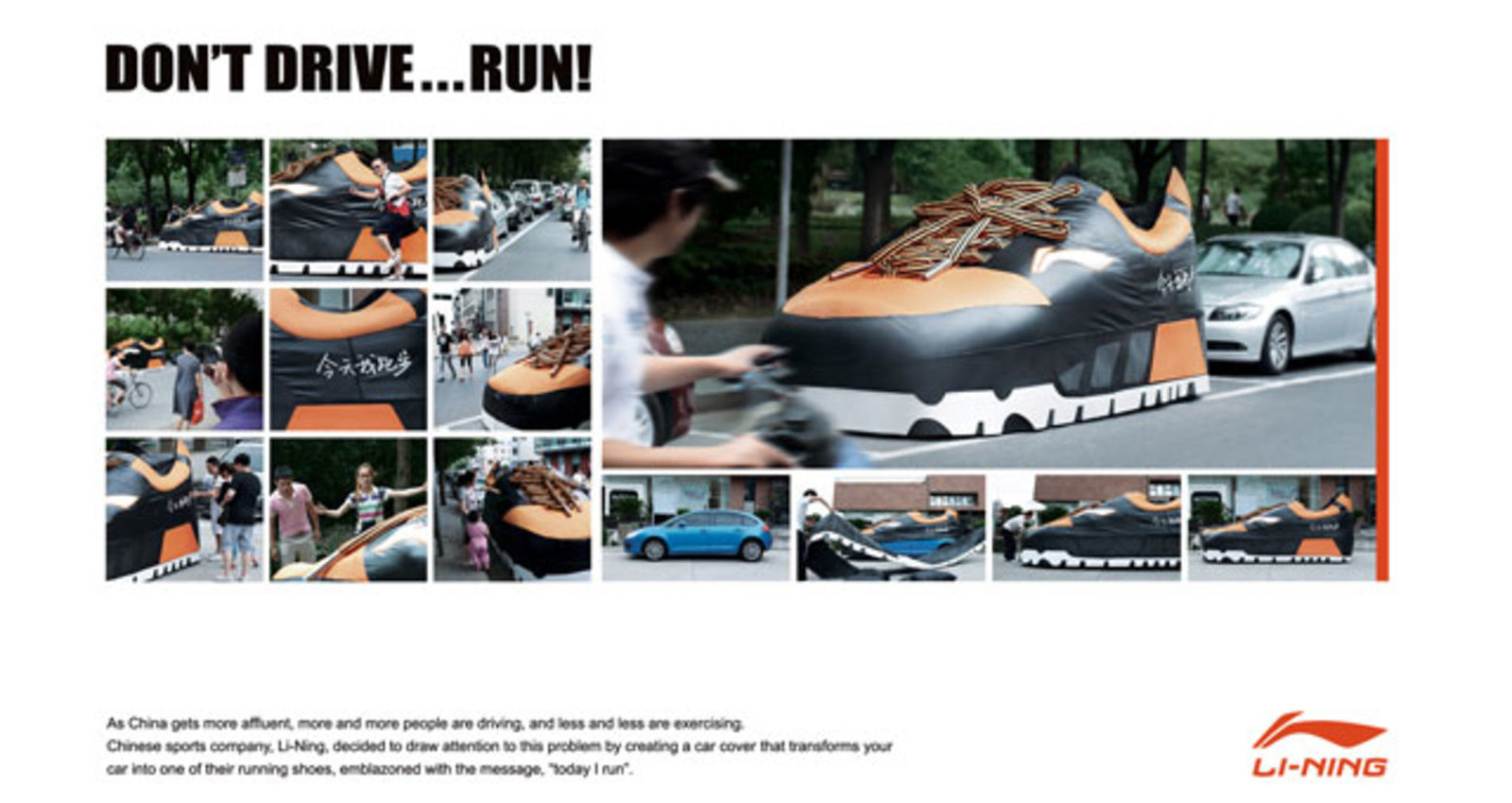 Don't Drive...Run