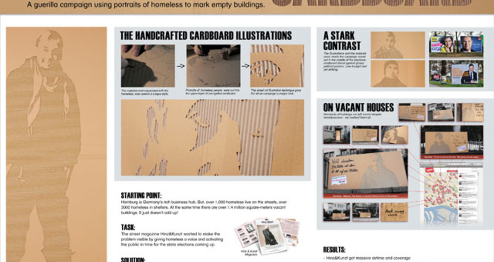 Cardboard Ambient Posters