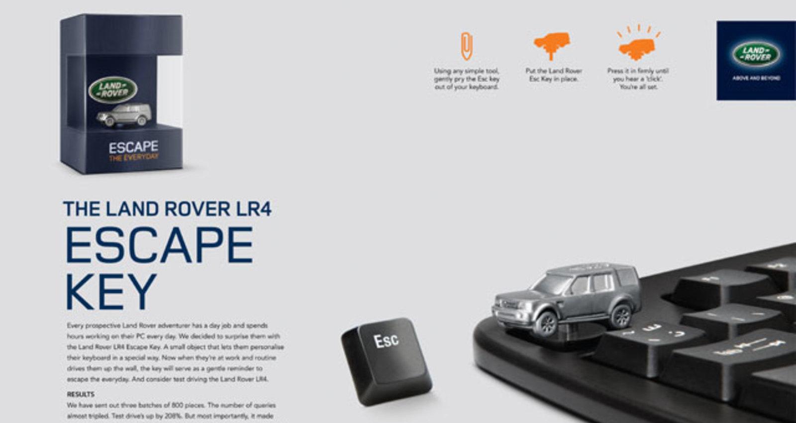 The Land Rover Escape Key