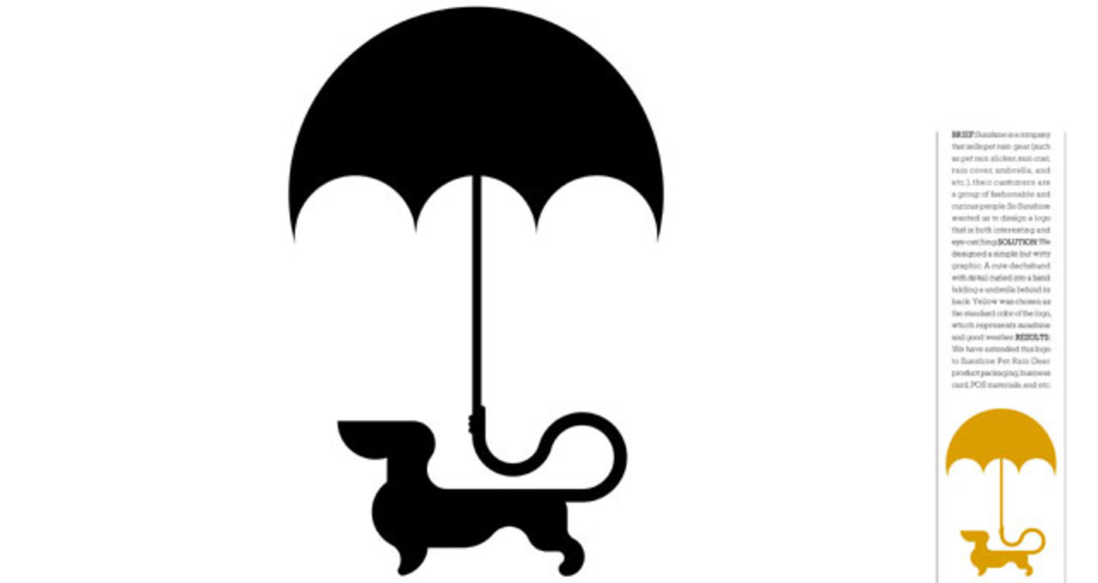 Sunshine Pet Rain Gear
