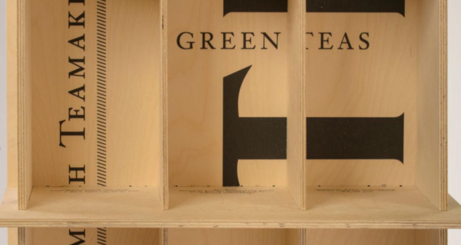 Steven Smith Teamaker Wooden Floor Display