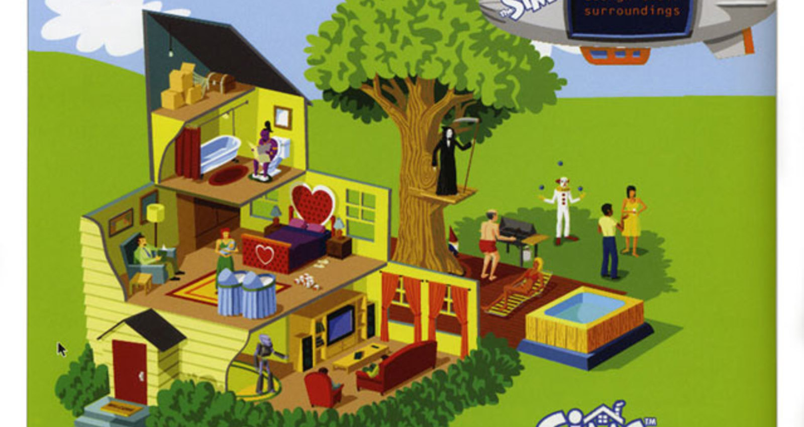 The Sim House