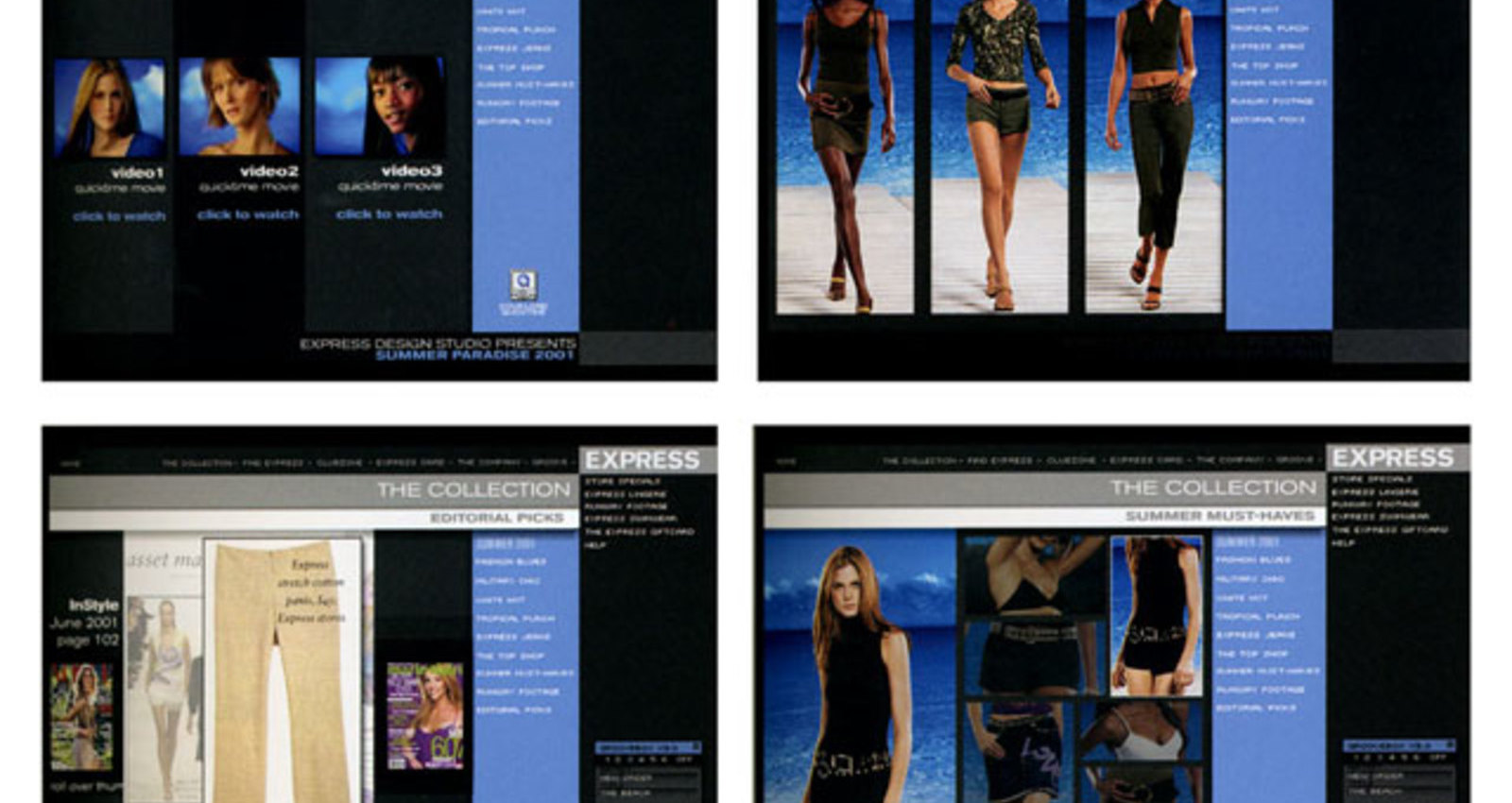 Express web site