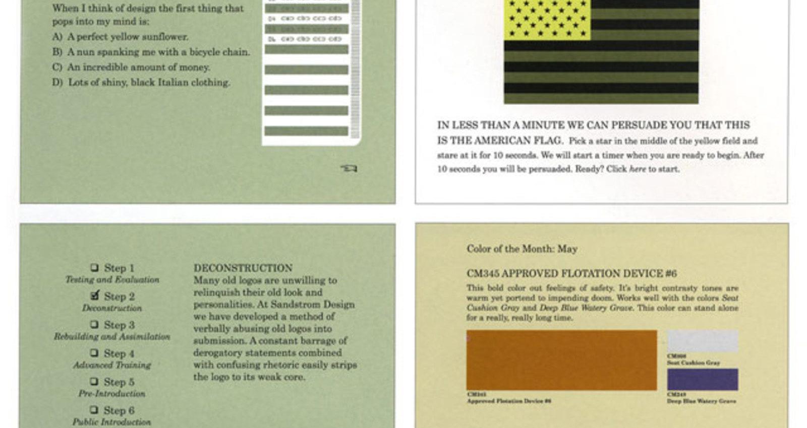 Sandstrom Design Website