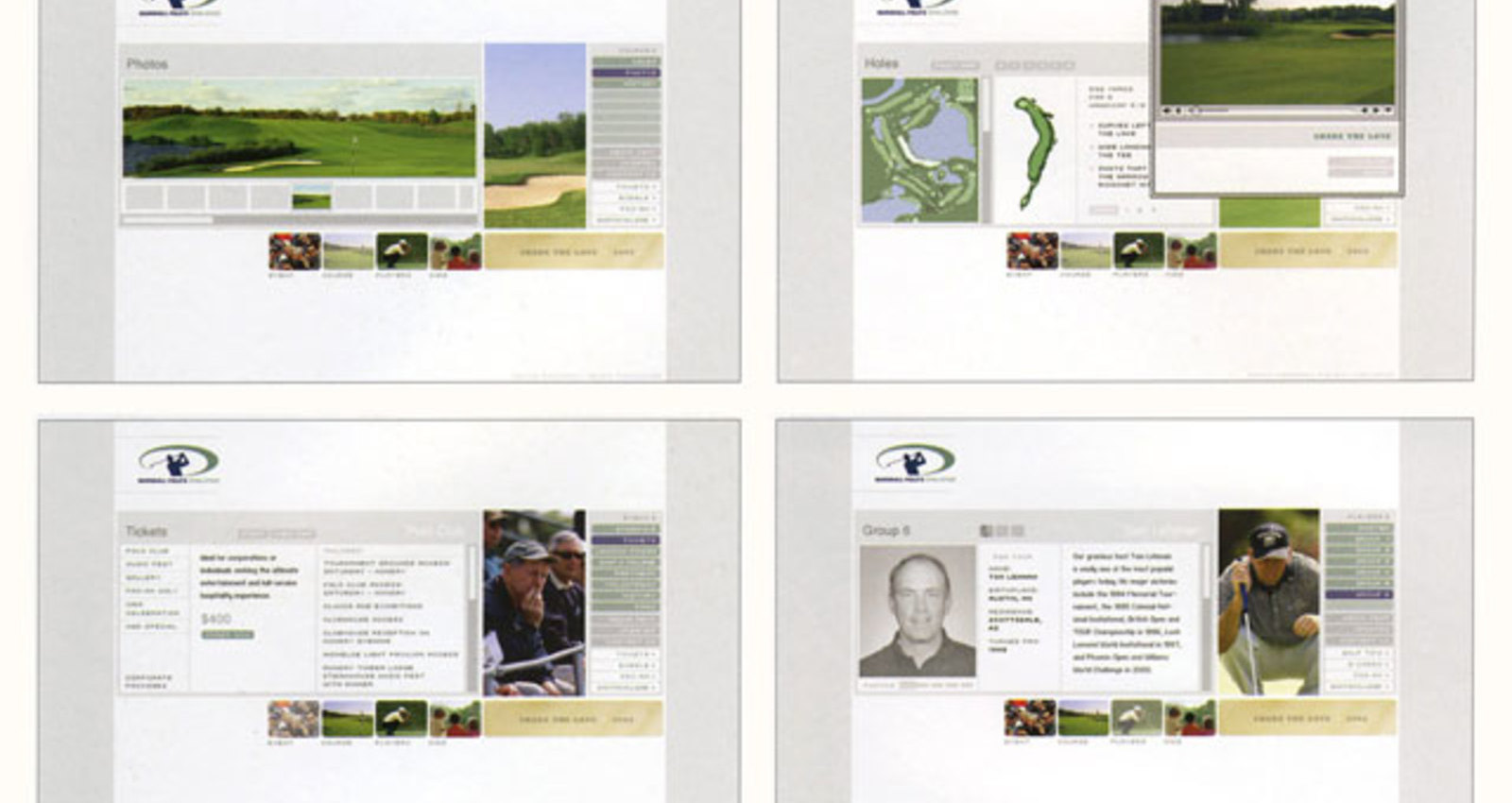 Marshall Fields Challenge, Tom Lehman Golf Charities