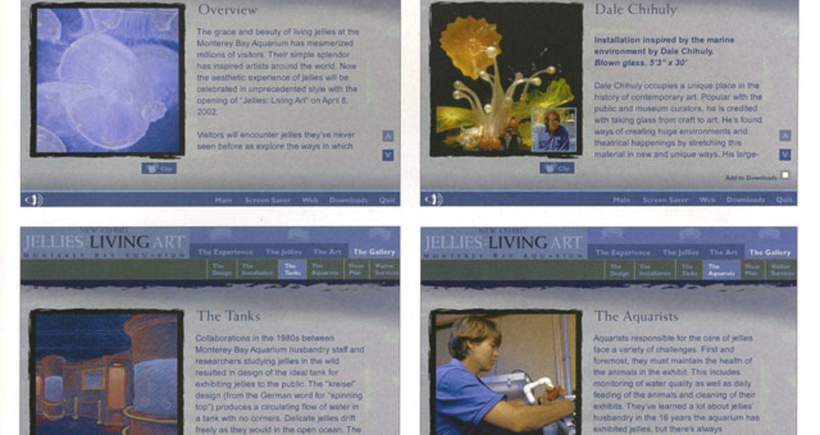 Jellies: Living Art CD-ROM Press Kit