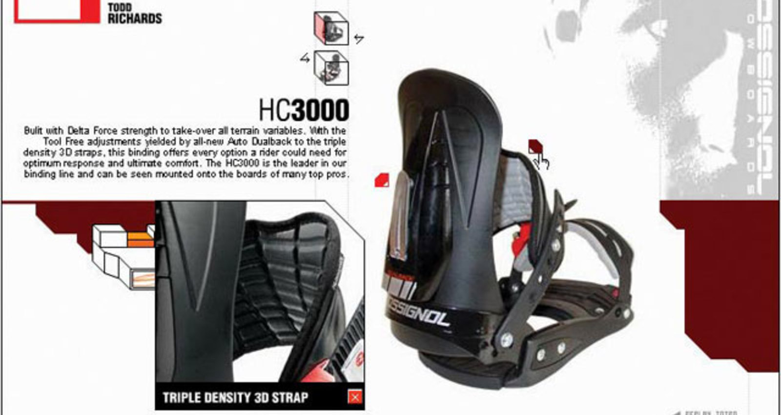 HC3000 mini-site