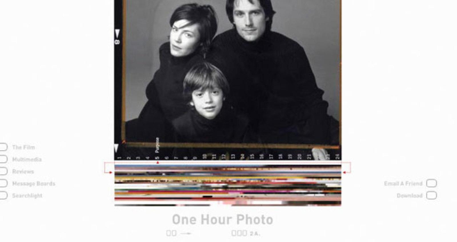 One Hour Photo Web Site