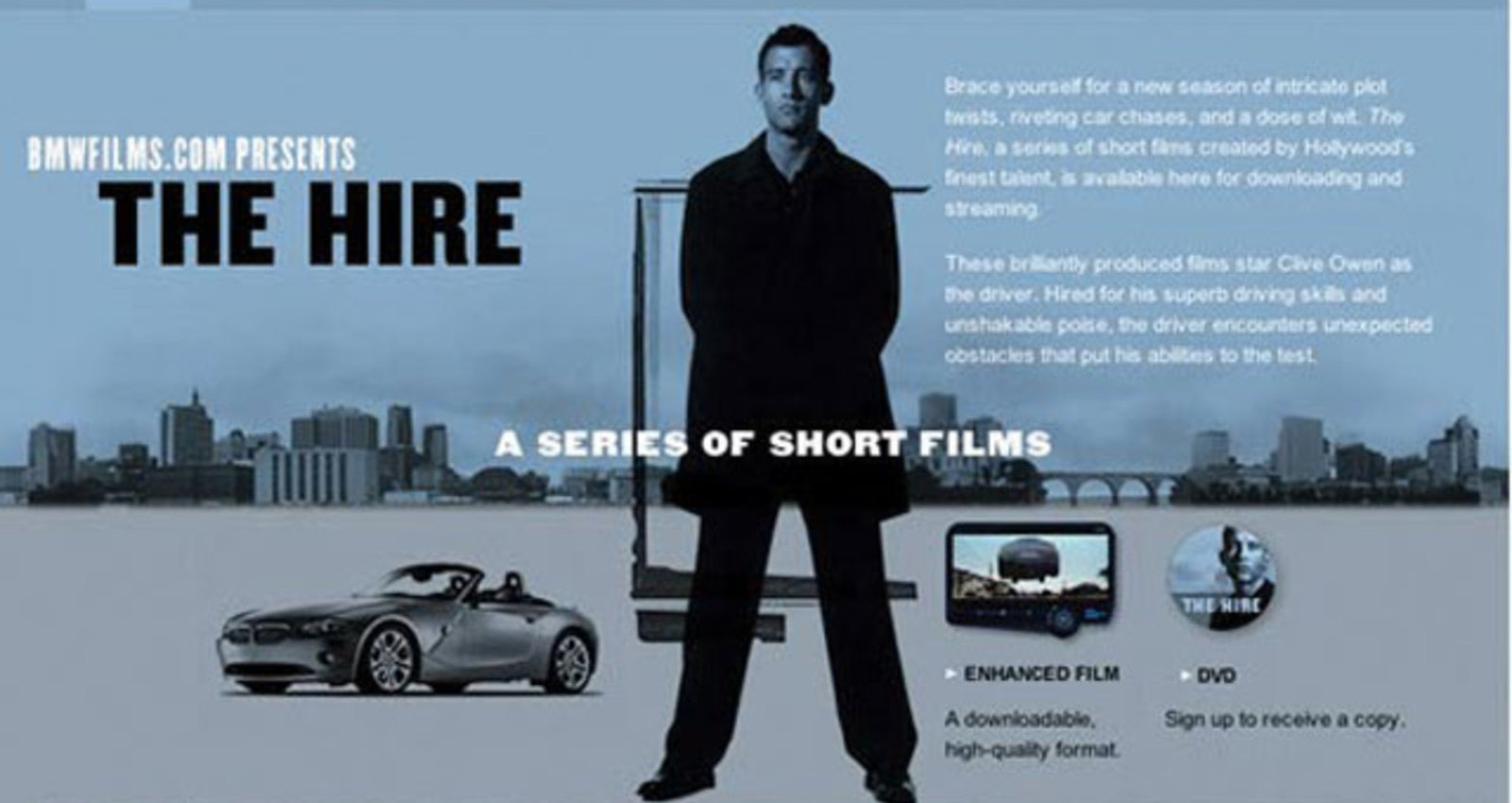 BMW Films/The Hire II Web Site