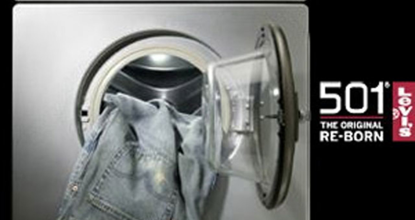 Levis 501 Washing Machine
