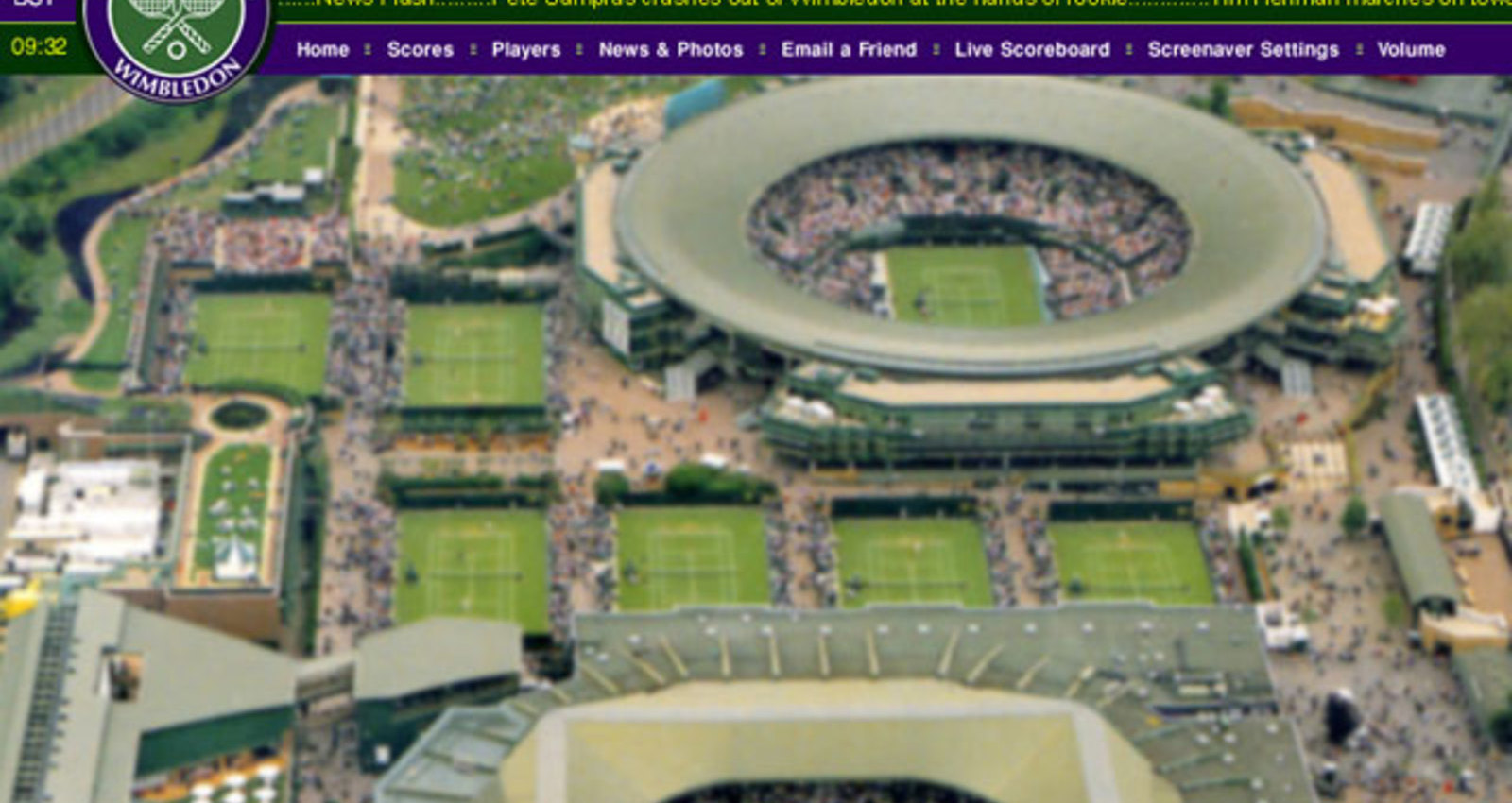 Wimbledon 2003 Screen Saver