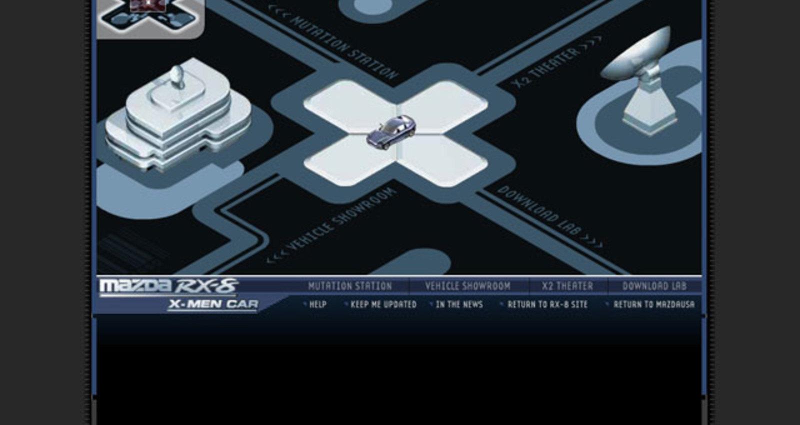 X2 X-Men Promotional Site
