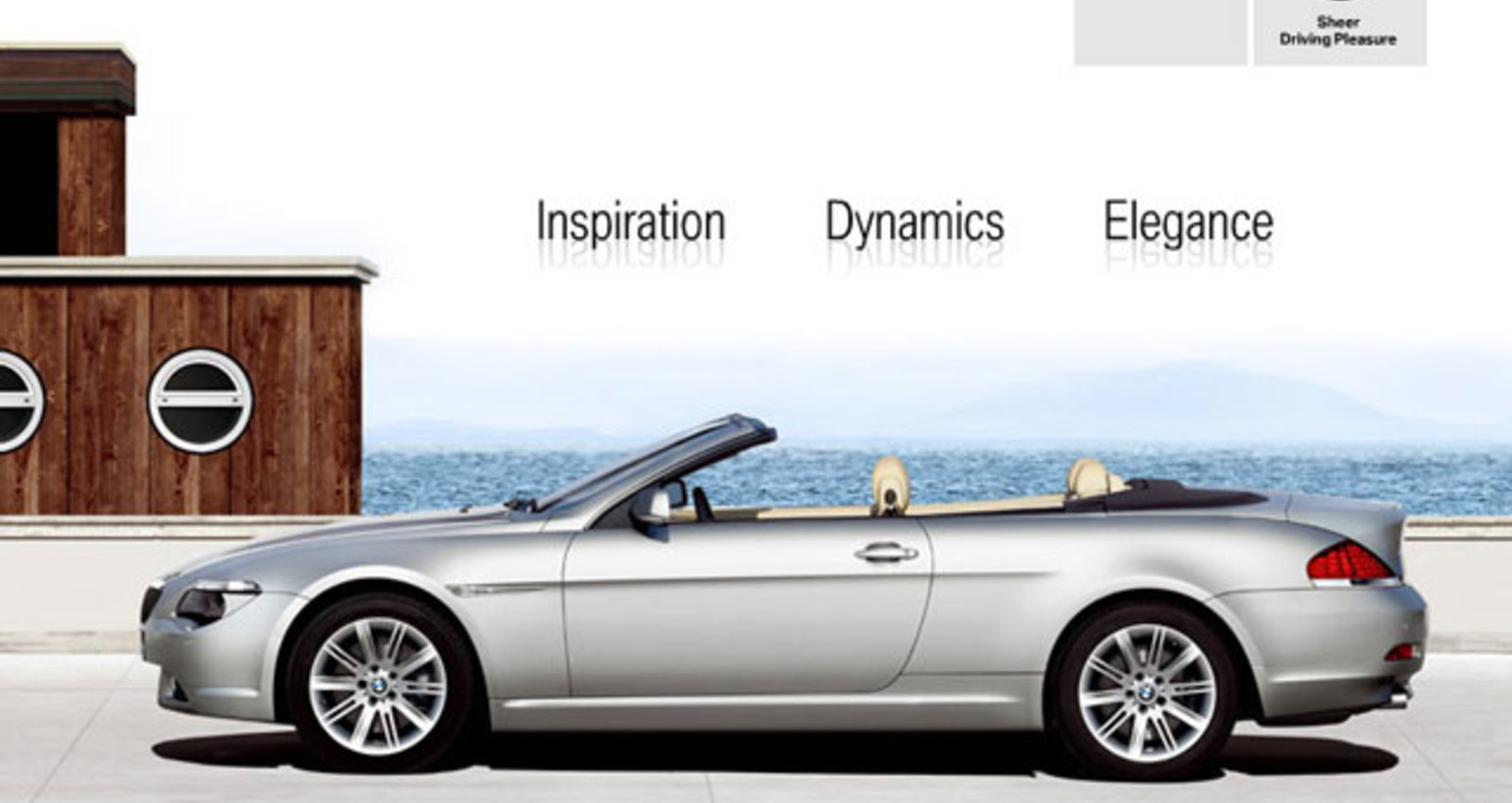 The new BMW 6 Series Convertible. Inspiration. Dynamics. Elegance.