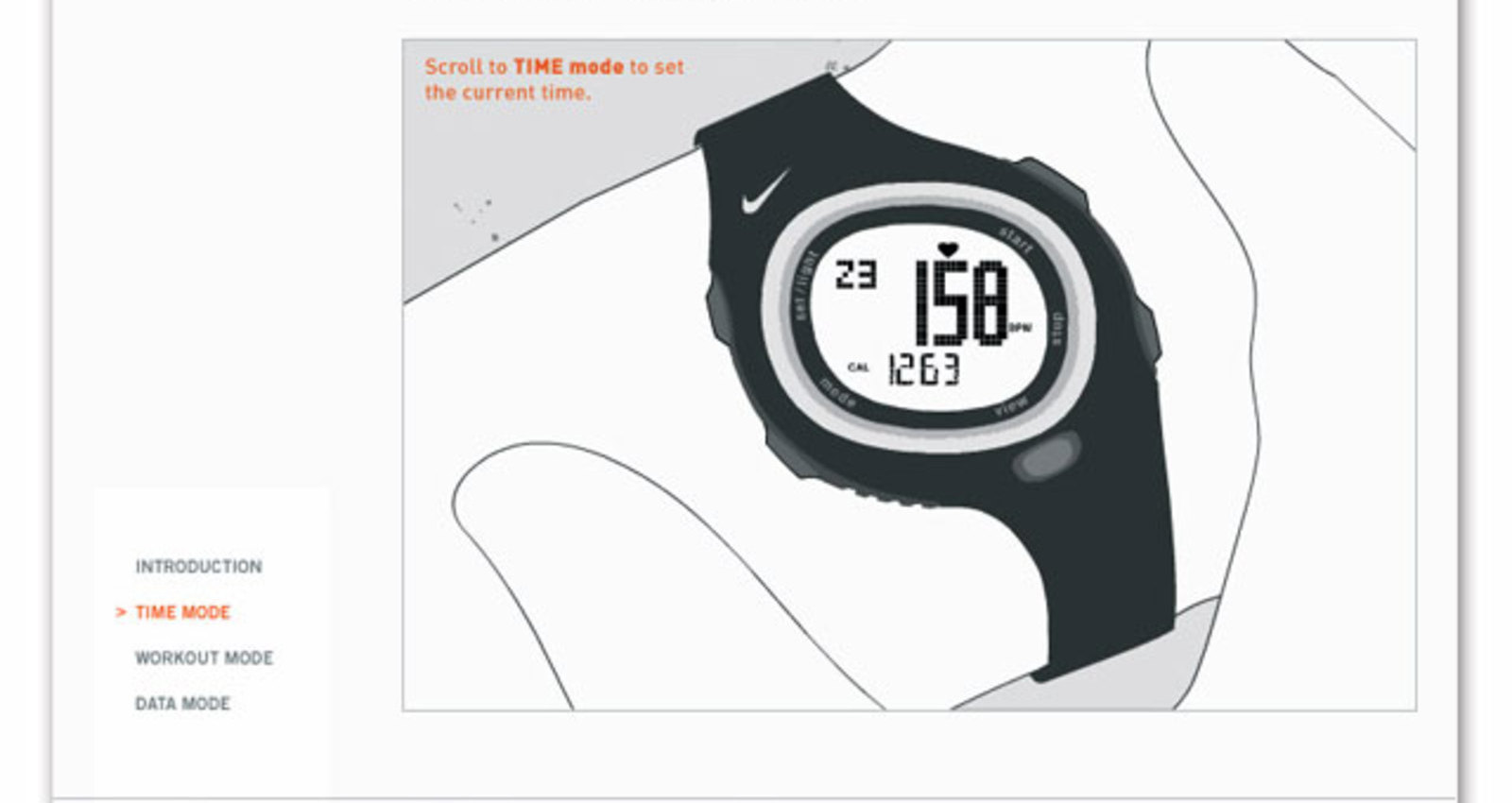 Nike HRM/SDM interactive tutorial