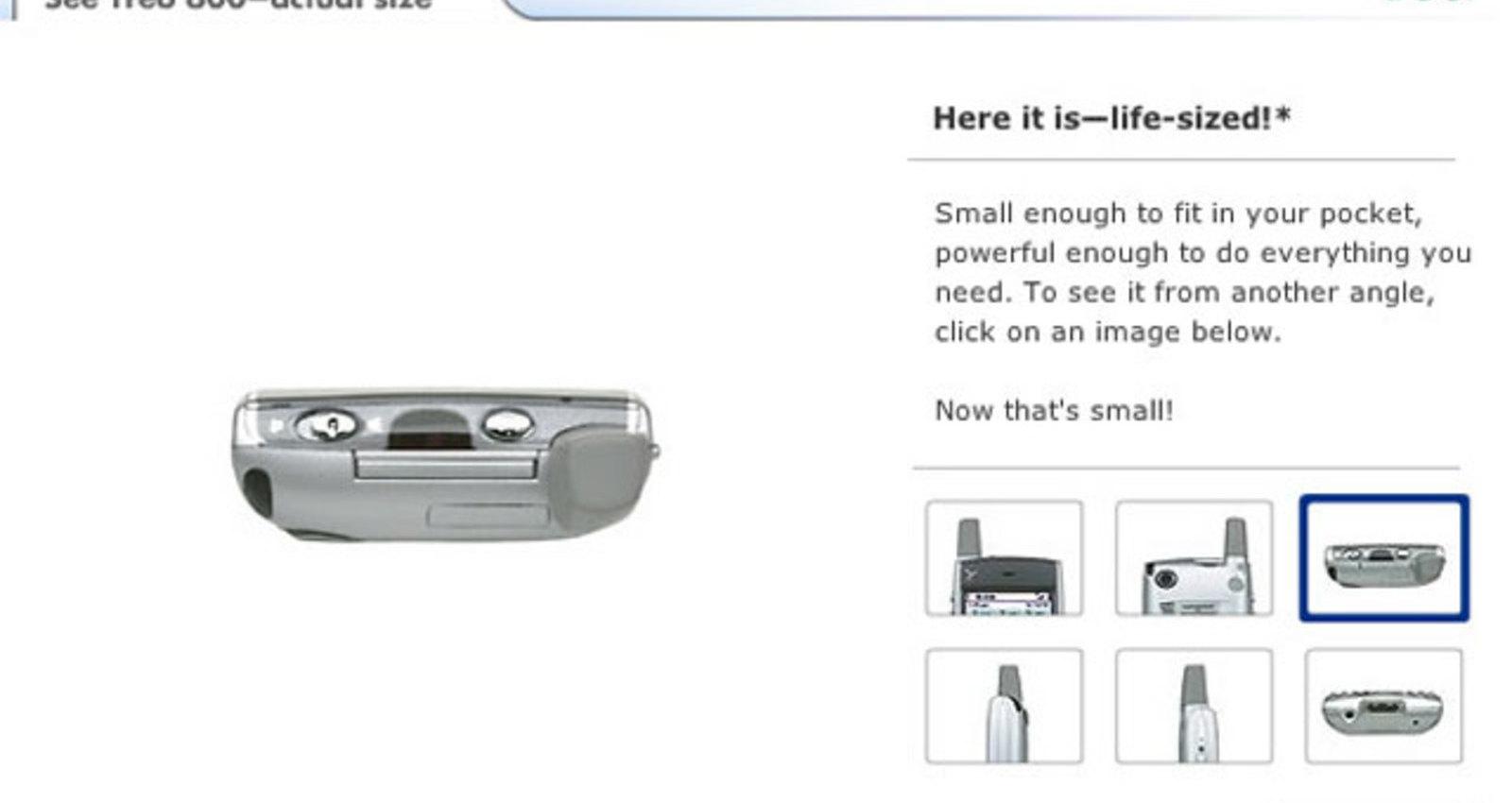 Treo 600 True Size Screen Calibrator