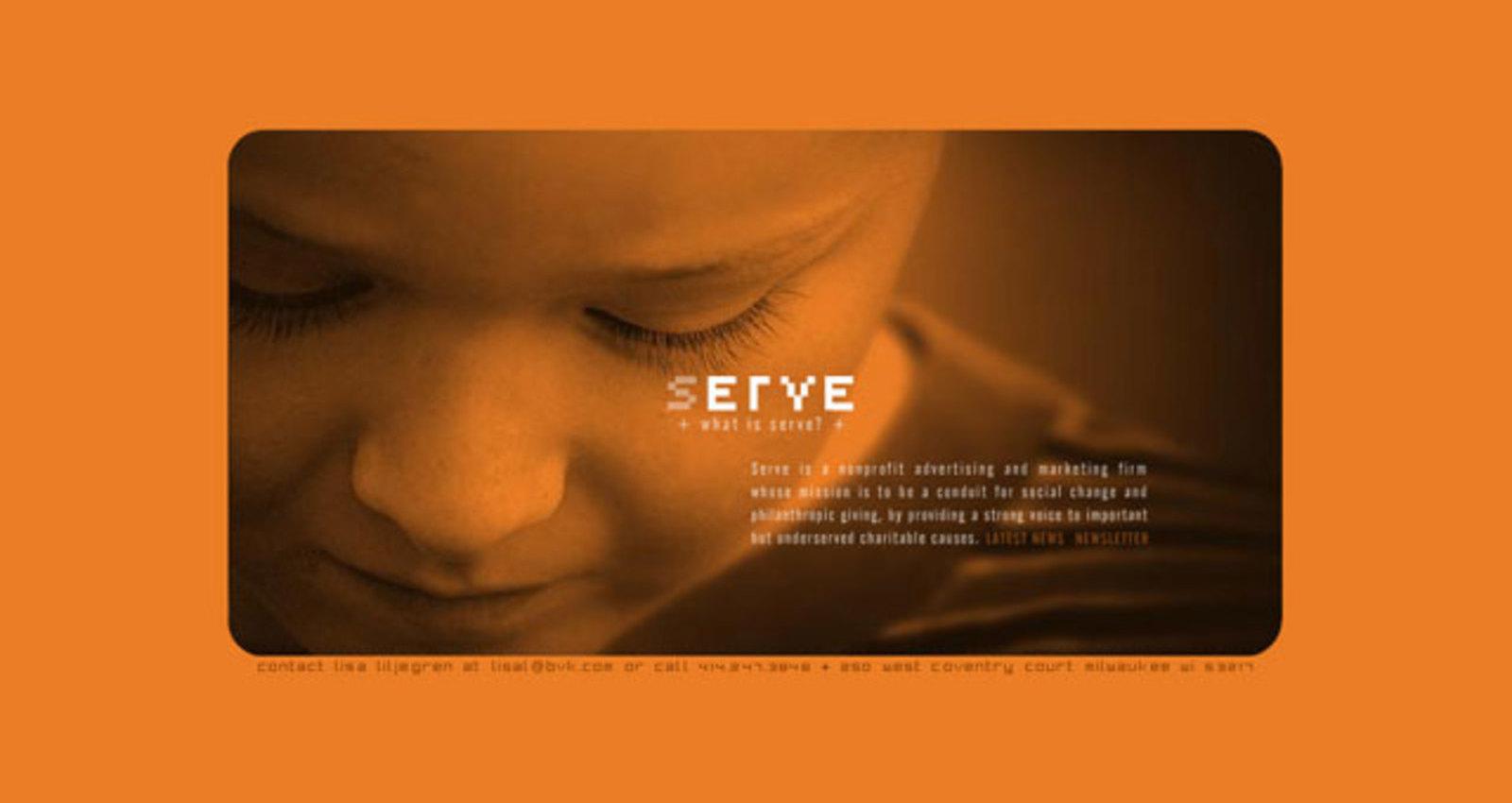 Serve Agency Web Site