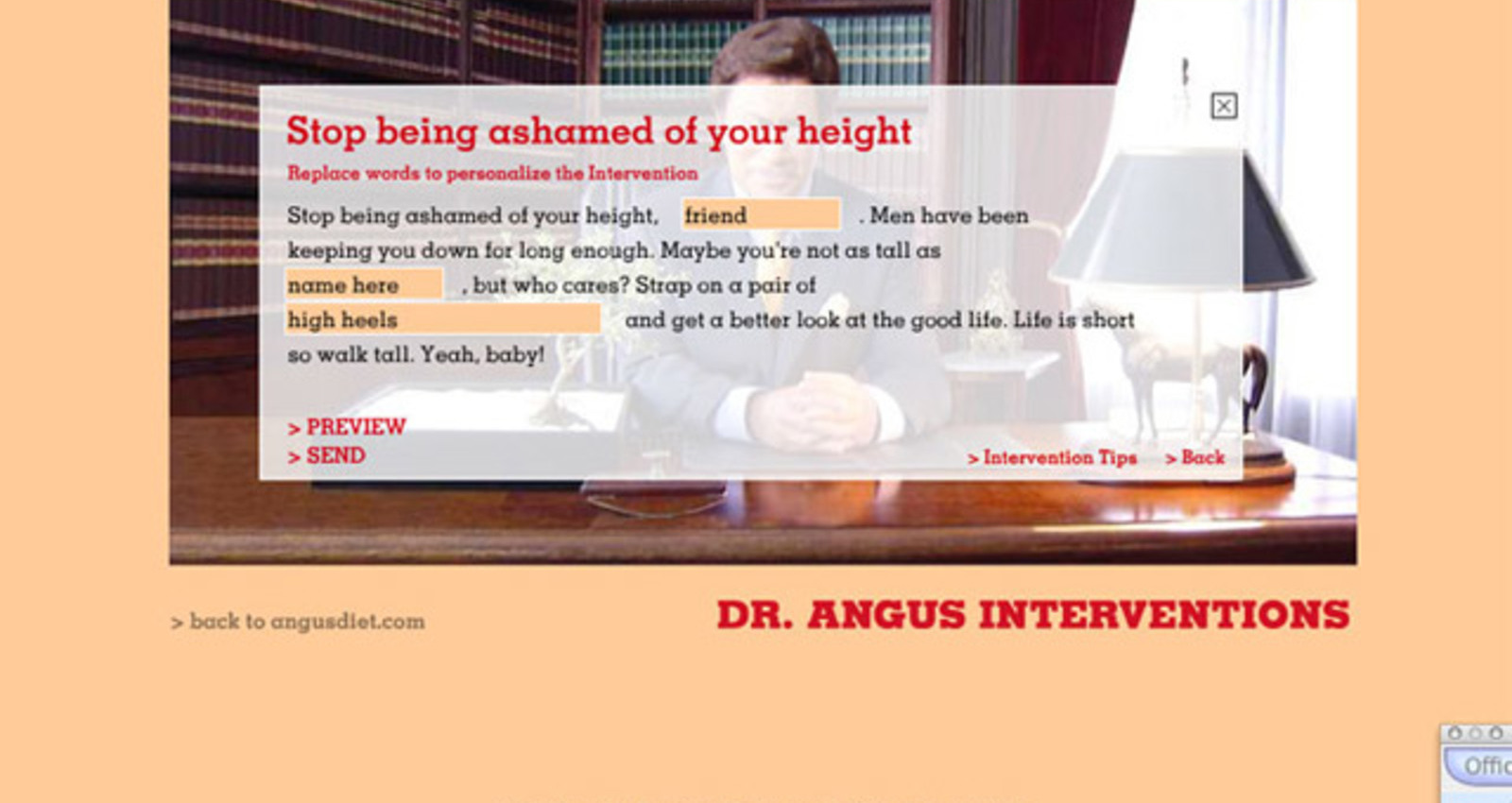 Angus Interventions