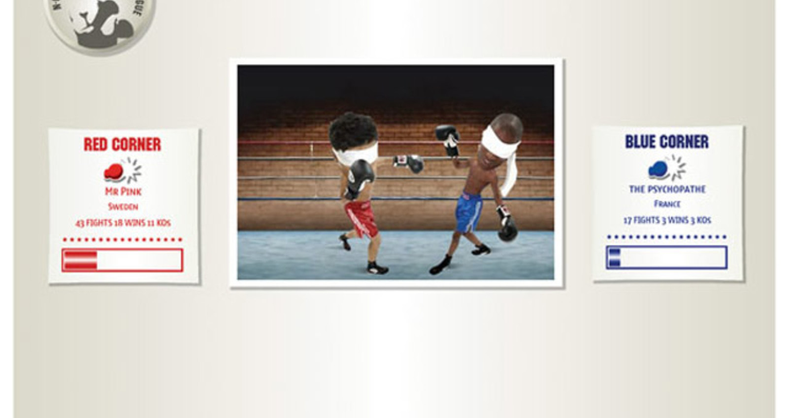 Blindfolded Boxing