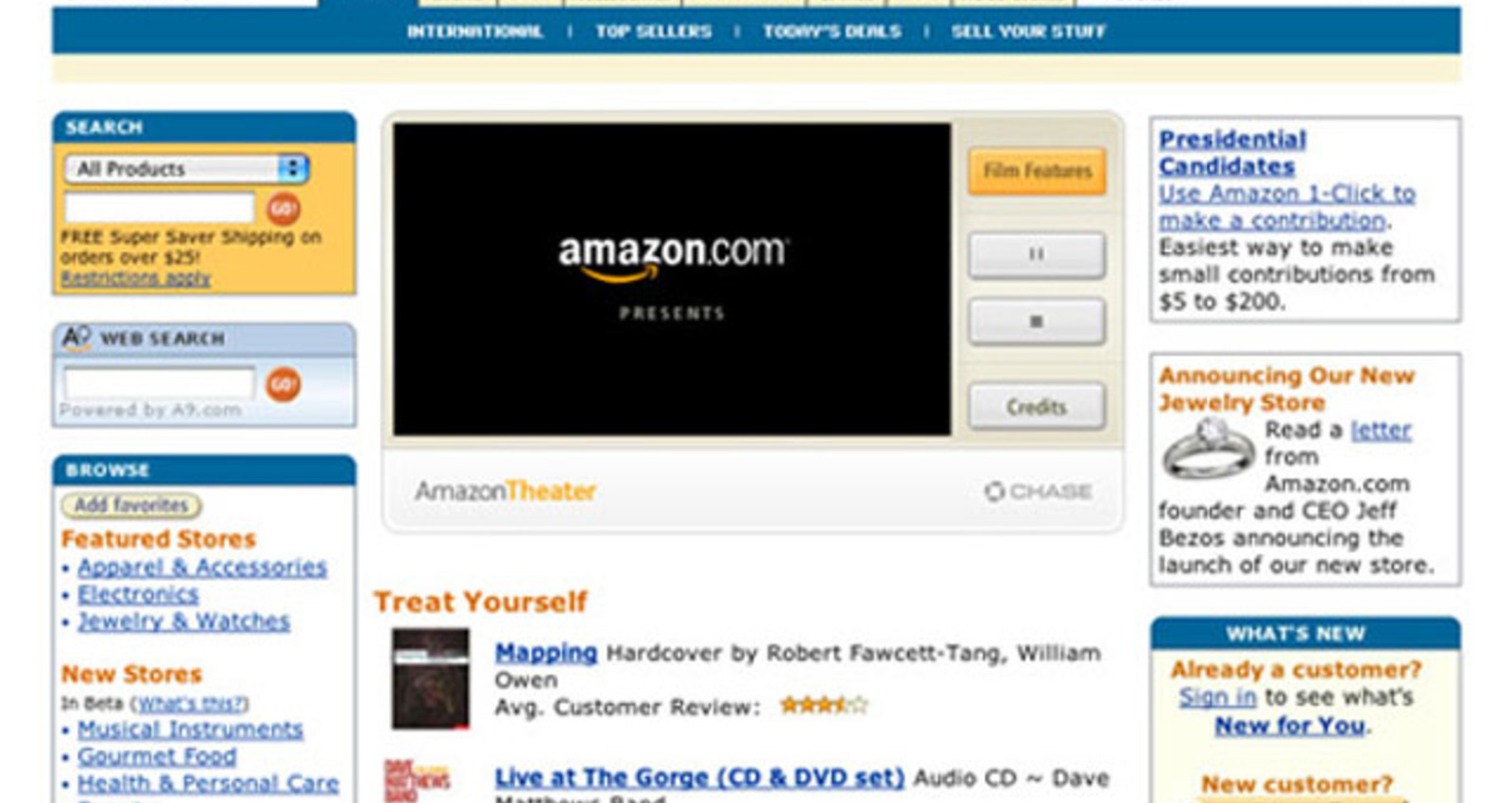 Amazon Theater Player