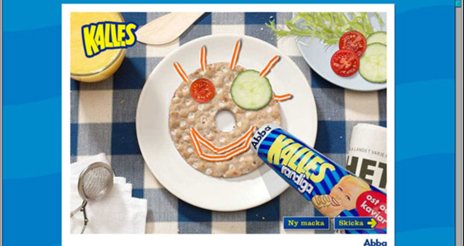 KALLES-WIN A REAL SANDWICH-GRAM!