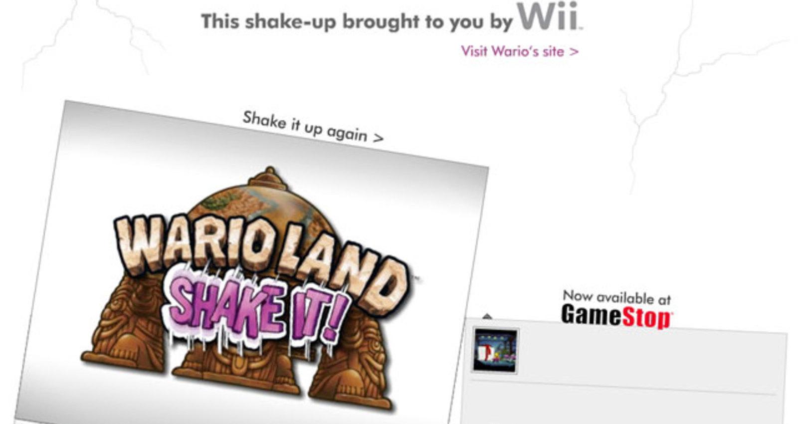 Wario Land Shake It!