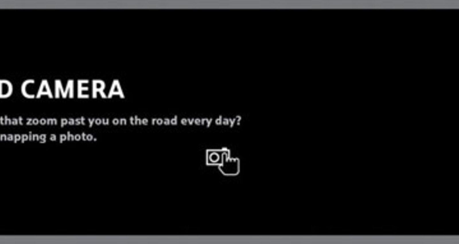 Speed Camera - MINI Cooper S
