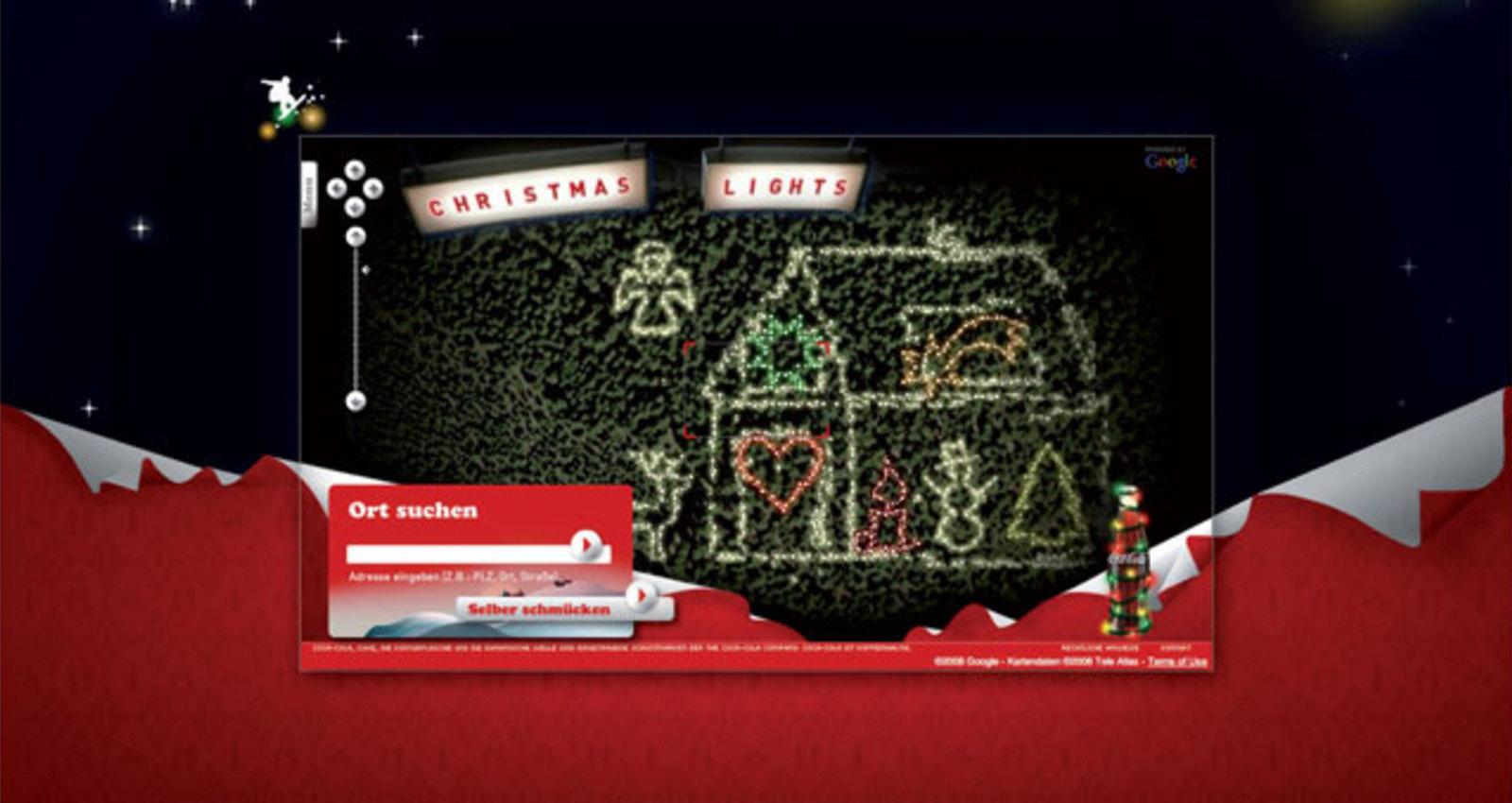 Coca-Cola Xmas 2008 - Christmas Lights