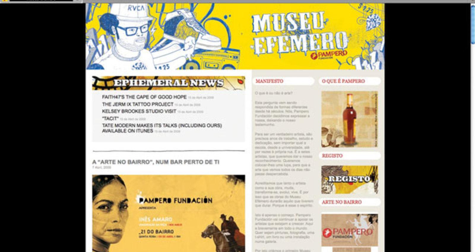 World´s First Ephemeral Museum