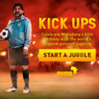 Maradona Kick Ups