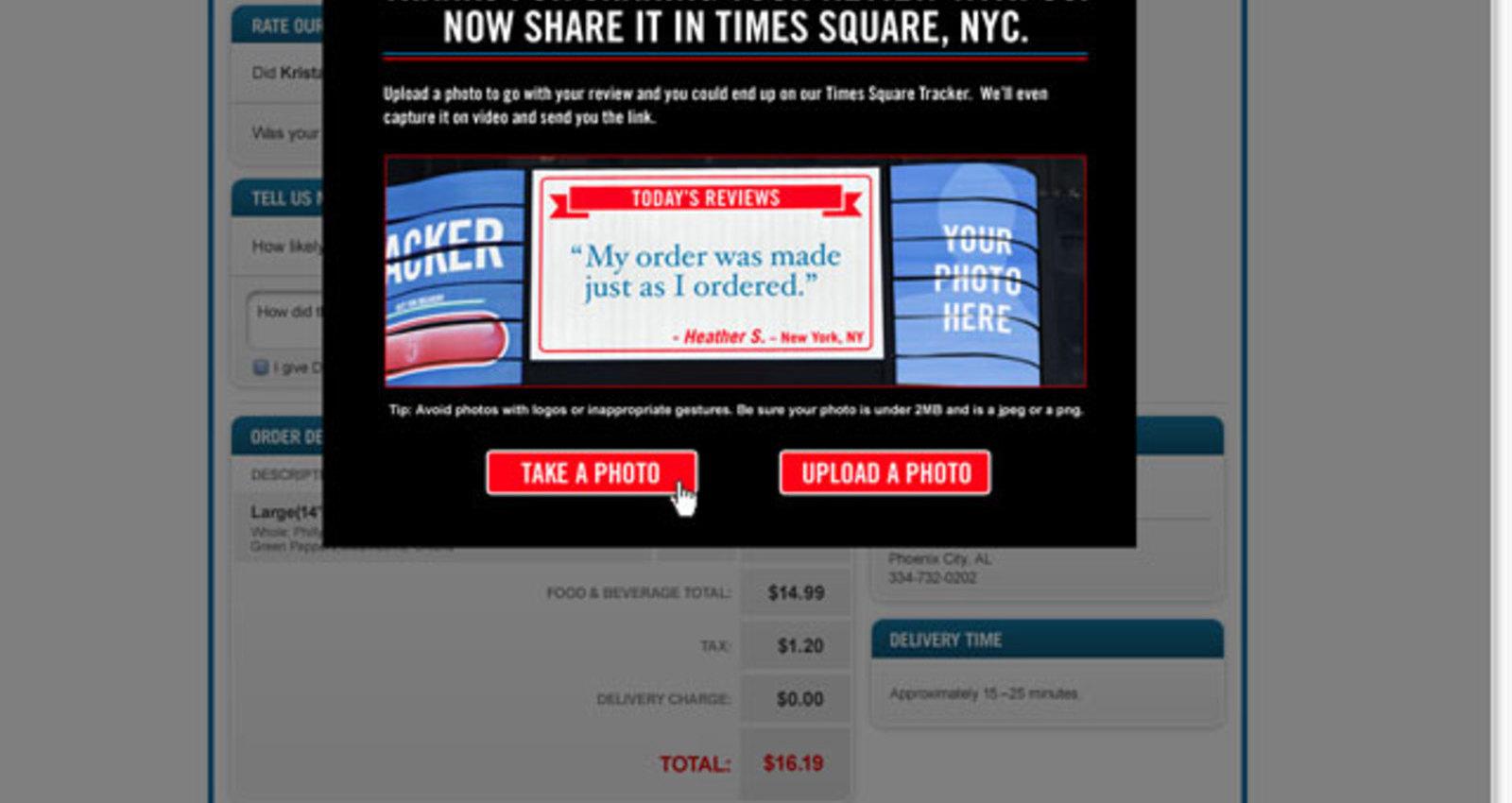 Times Square Tracker