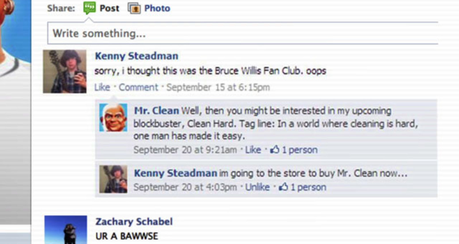 Real Friend on Facebook