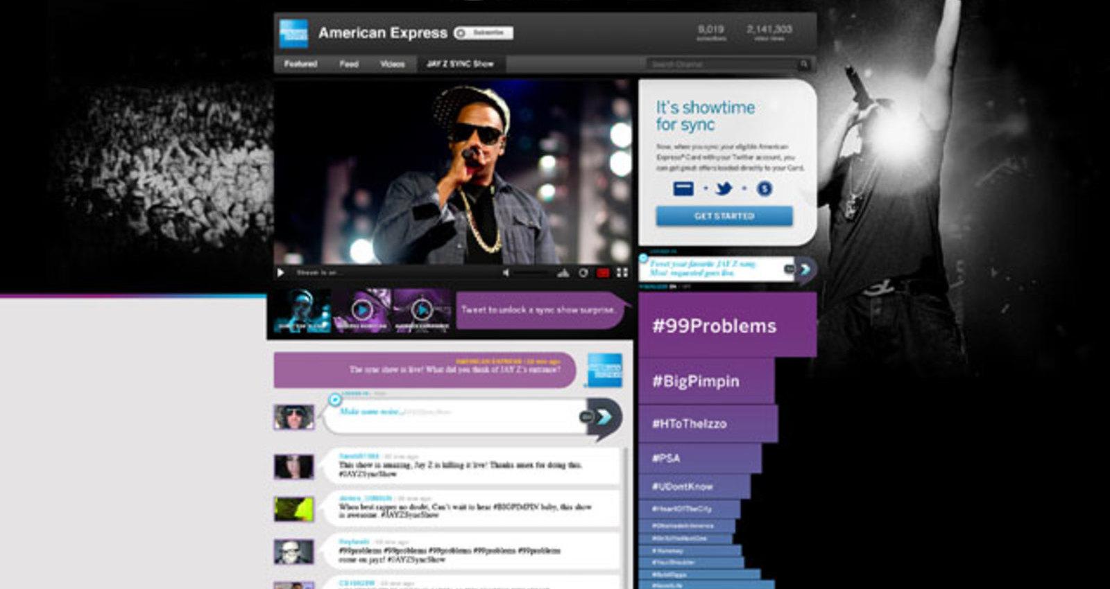 Amex Sync Show