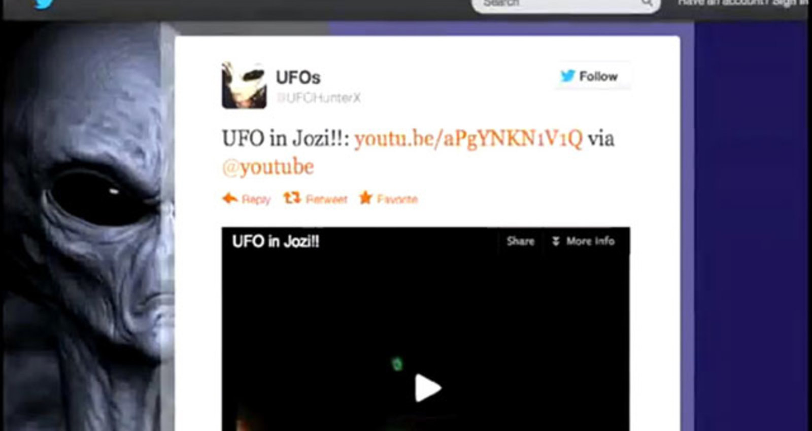 UFO's Over Jozi